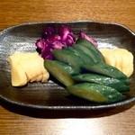 旬鮮酒場 Dank - おしんこ盛¥500 2013.9.12