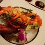 sute-kihausuminami - オマールのサラダ