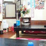 辰の子食堂 - 座敷に2卓