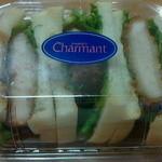 シャルマン - ロースカツサンド357円(25年9月)