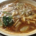 麺菜館 楽屋 - 担々麺 白 ¥790