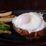 ゆーゆーらーさん - 料理写真:エッグハンバーグ(950円)