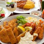 ビンクス - 各種パーティーコースご用意しております!!洋食の人気メニューを取り揃えました♪ボリュームたっぷりで味も抜群!