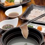 富乃屋 - 料理写真:「福岡ハイポー豚のしゃぶしゃぶ」「水炊きしゃぶしゃぶ」は絶品!