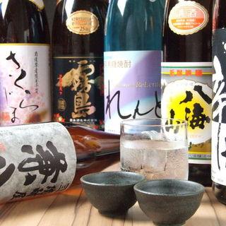 オイシイと思った日本酒を日替わりでご用意