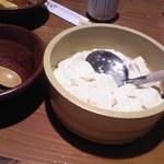 21383191 - お替り自由の出来立て豆腐