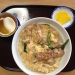 食堂 あき - カツ丼