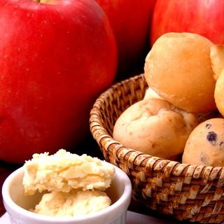 *季節の手作りバター*
