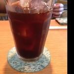 パッセジャーレ - 友人の食後にアイスコーヒーもセットドリンク