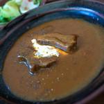 hanaはな家 - 「タンシチュー」はかなり深い味わい。