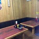 おゝ竹 - テーブル席