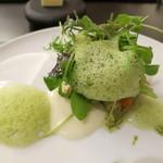 リベルタス - 前菜 15種の有機野菜の菜園、リベルタス風