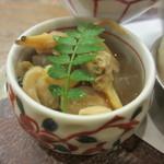 巽蕎麦 志ま平 - 浅利と大根