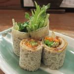 巽蕎麦 志ま平 - 蕎麦クレープ