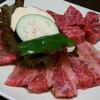 Ajikuratengoku - 料理写真:1)飛騨牛盛(2,205円)