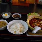 21394703 - 麻婆豆腐定食650円