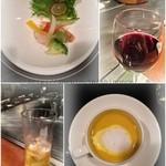 車屋 - コース 前菜とスープ