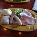 Mio Casaloレストラン - ミオカザロプレート1300円