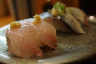 回転寿司 ぱさーる - アジ、サンマ