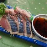 森田食堂 - 戻り鰹のタタキ