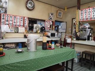 森田食堂 - まさに昭和の大衆食堂って感じ