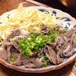 もつ幸 - センマイ刺(千枚・牛の第三胃)