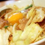 東京トンテキ - スタミナ丼