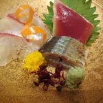 21400363 - 鯛のカルパッチョ☆カツオに秋刀魚