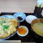 銀花櫻 - カツ丼定食