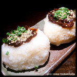 ばんやしおさい - 島味噌のおむすび