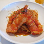 バンビーナ - 活け足赤海老のトマトソース