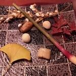 強羅天翠 - 焼合:鯛、帆立、銀杏