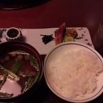 強羅天翠 - お食事