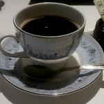 21405829 - 有機栽培コーヒー(ランチセットと一緒に注文した場合、280円)