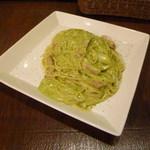 イシガキ ユーグレナガーデン - 緑のカルボナーラ