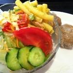 まねき猫食堂 - セットのサラダ
