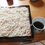 21406662 - 御膳生粉打ち蕎麦 1100円 【 2013年9月 】