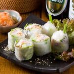 タイ屋台料理&ヌードル オシャ - 料理写真:フレッシュ生春巻き
