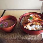 米沢鯉 六十里 - 鯉丼