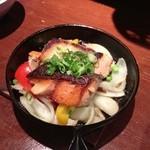 21407744 - 秋鮭の味噌バター焼き