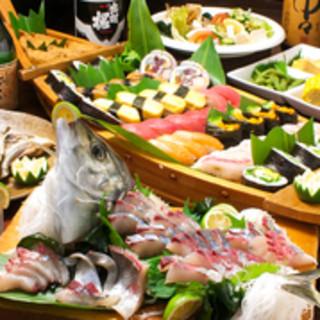 脂のり良し、弾力良し!!溢れる旨味で必ず食べたい「新鮮魚介」