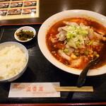 21409734 - 四川ラーメンセット880円
