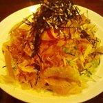 香港電撃食堂花華 - 名前は大根と水菜のサラダでしたが