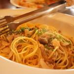 ピッツェリア ラマーノ - 茸のパスタ