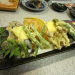 やまお - 野菜の天ぷらです