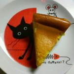 tama - 料理写真:かぼちゃのチーズケーキ 250円