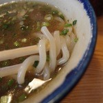 Mendoukuroton - つけ麺(750円)にしました。