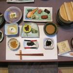 やまびこ旅館 - 朝食
