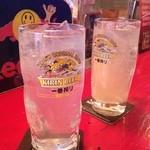 パブ バッファロー - レモンサワー 甘いのと甘くないものがある。