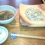 梵字 - 温鴨つけ蕎麦